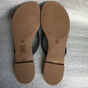 127521f2dc1be Tory Burch Shoes - Tory Burch Terra Flat Logo Thong Sandal